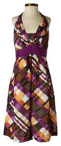 Maxi Dress by Moulinette Soeurs Plaid Halter