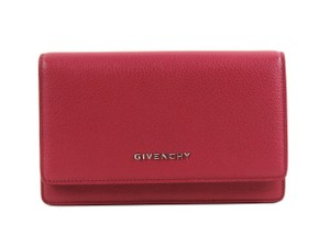 Givenchy Givenchy Pandora Chain Wallet - Raspberry