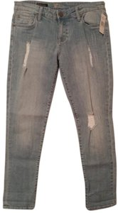 KUT from the Kloth Destroyed Boyfriend Cut Jeans-Distressed