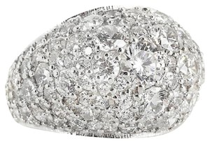 Jean Dousset Jean Dousset 4.61ct Absolute Round Pave' Dome Band Ring - Size 6