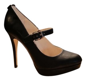 Michael Kors Stilletto Black patent Platforms