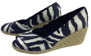 Ralph Lauren Espadrilles Black/cream Wedges