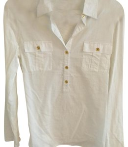 C. Wonder Button Down Shirt White