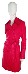 Catherine Malandrino Trench RED Jacket