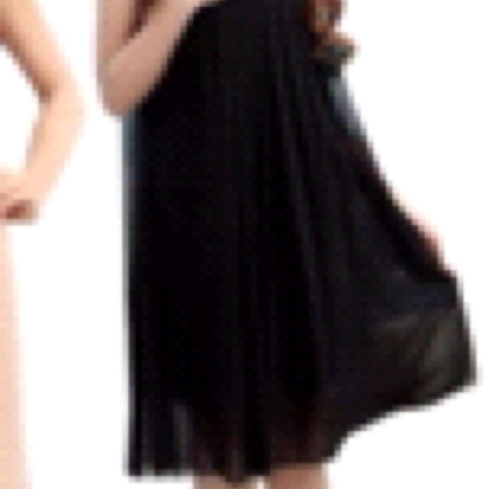Black chiffon loose fitting maternity cocktail dress size os one 12 ombrellifo Choice Image