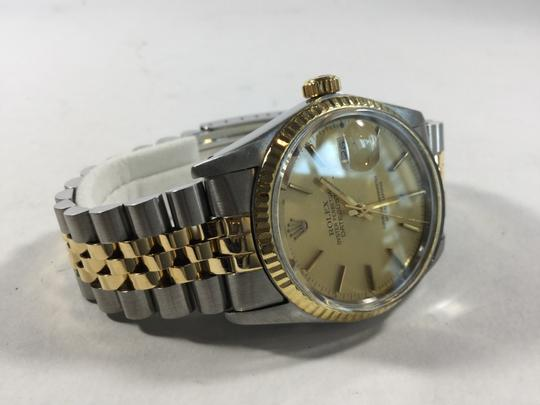 Rolex Men's Rolex 16013 Stainless and 18K Gold DateJust Men's Watch