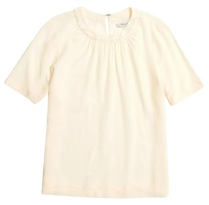 Madewell Top Pearl Ivory