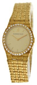 Piguet Royal Ladies Audemars Piguet Royal Oak 18K Yellow Gold Diamonds 21MM Quartz Watch