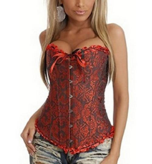 Other BNWOT ~ Red and Black Corset / Bustier, Size 5XL