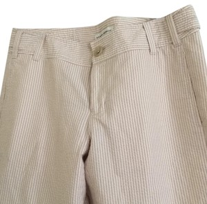 Banana Republic Khaki/Chino Pants Beige Seersucker