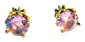 Juicy Couture Juicy Couture Princess Crown Pink Earrings