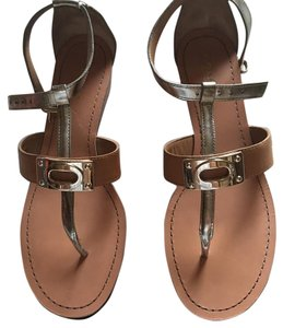 Coach Silver/ Ginger Sandals