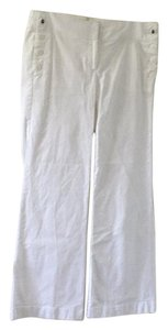 Ann Taylor LOFT Wide Leg Pants White