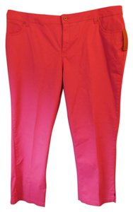 Sonoma Plus-size New With Tags Straight Pants Fuchsia