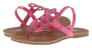 Mia Shoes Orchard Pink / Nora Suede Sandals