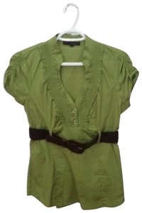 HeartSoul Top Green with Brown belt