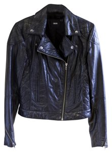 ASOS Biker Motorcycle Quilting Leather Jacket