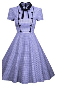 Cike Retro Vintage Retro Vintage Swing Dress
