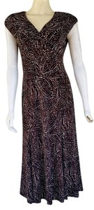 Jones New York short dress Brown on Tradesy