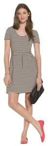 Madewell short dress Black and White Stripe on Tradesy