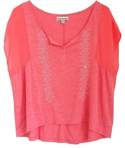 American Eagle Outfitters Top Orange
