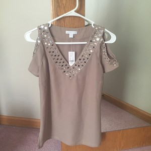 New York & Company Top camel colored/Light brown