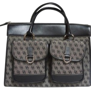 Dooney & Bourke Satchel in Black Monogram