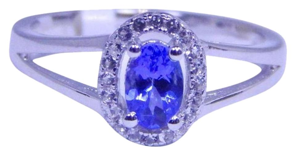 pcs tanzanite mm blue v round flawless natural purple top