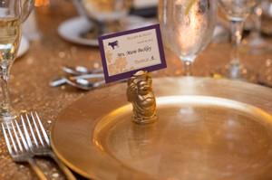 Beautiful Gold Sequin Tablecloth