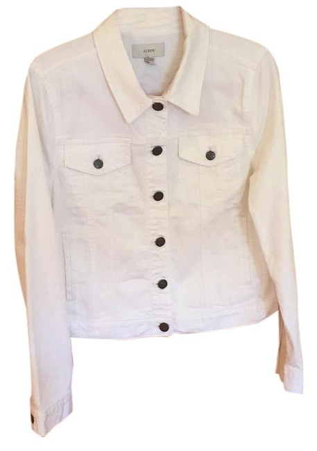 Item - White 2015 Spring Collection Jacket Size 12 (L)