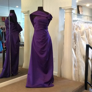 Andrew Adela Violet Dress
