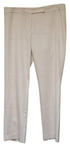 MILLY Straight Pants Cream