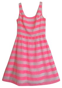 Lilly Pulitzer Fluorescent Stripe Summer Dress