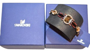 Swarovski Swarovski Crystal 1110335 Pony Leather Cuff Bracelet