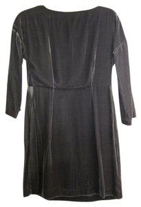 Massimo Dutti Velour Classic Dress