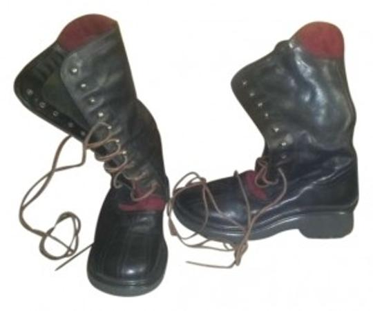 X-it Black Leather Boots