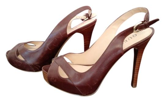 Preload https://item3.tradesy.com/images/guess-brown-leather-stiletto-heel-platforms-size-us-7-1694067-0-0.jpg?width=440&height=440