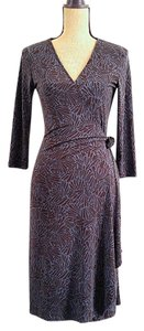 BCBGMAXAZRIA Wrap Wrap Maternity Bcbg Dress