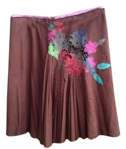 Free People Skirt Brown