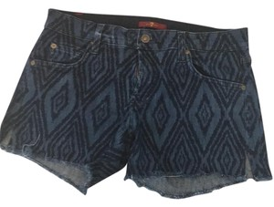 7 For All Mankind Cut Off Shorts Blue jean and navy