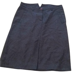 French Connection Skirt Gray