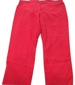 Gap Capris Coral/Salmon/Orange