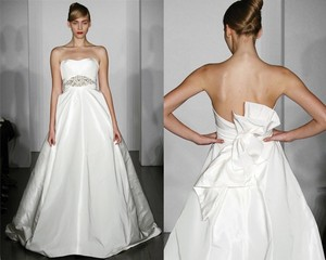 Amsale Off White Wedding Dress Size 0 (XS)