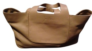Joan Helpern Signature Satchel in Tan