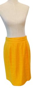 Lord & Taylor Skirt Mustard Yellow