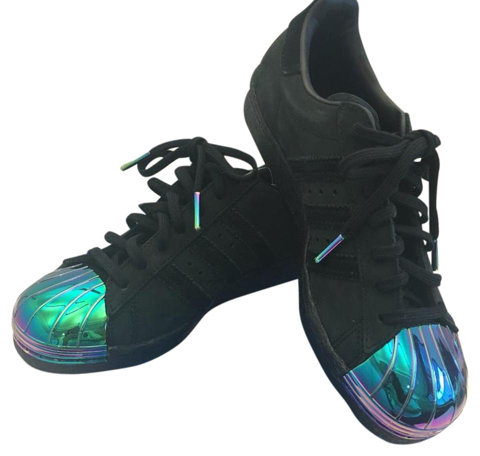 adidas Superstar Black adidas Sneakers Black adidas Iridescent Sneakers Superstar Iridescent Black rqxXrnwB0