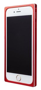 Gramas iPhone 6 luxury straight metal bumper, by Gramas (red)