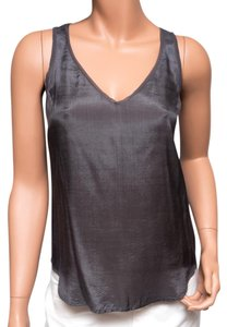 Chan Luu Viscose Evening Top Gray