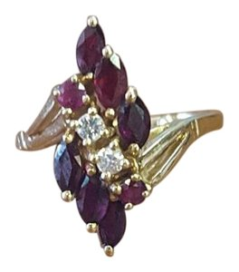 Other/Estate Vintage Ring with Ruby and Diamond