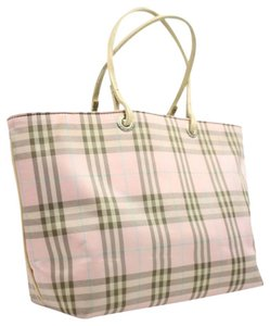 Burberry London Neverfull Shopper Tote in Pink